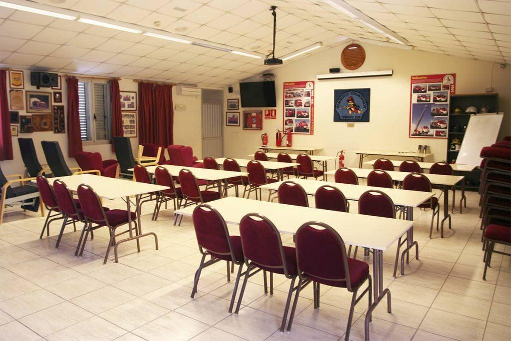Salón multifuncional parque de bomberos Fañabé (actualidad)