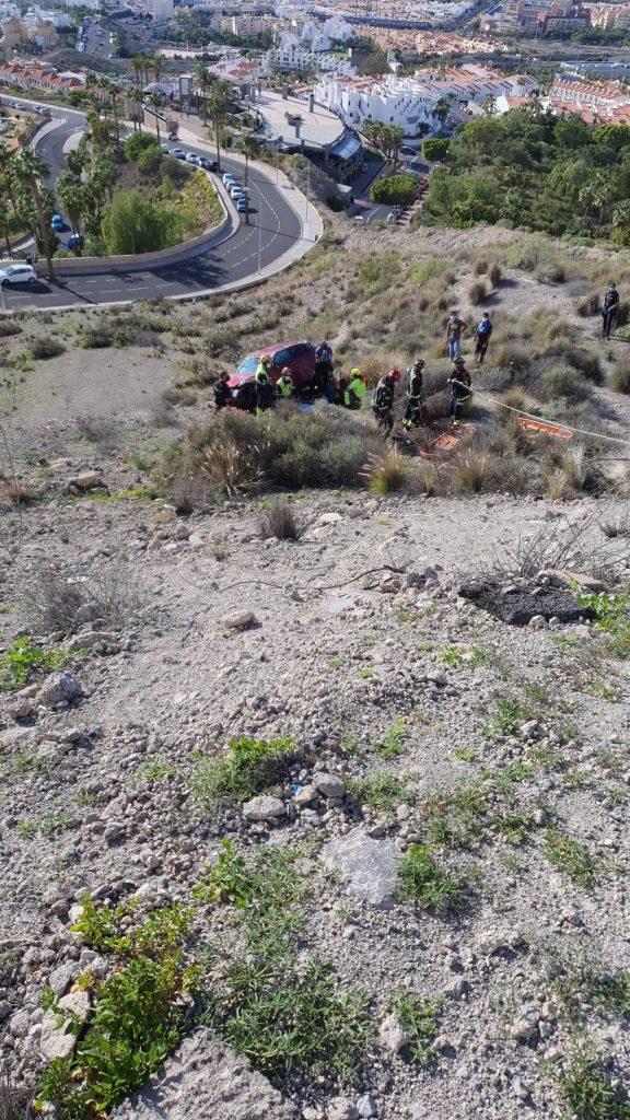 Accidente de tráfico en Torviscas