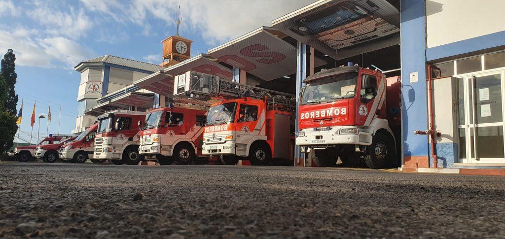Parque de bomberos de Fañabé (actualidad)