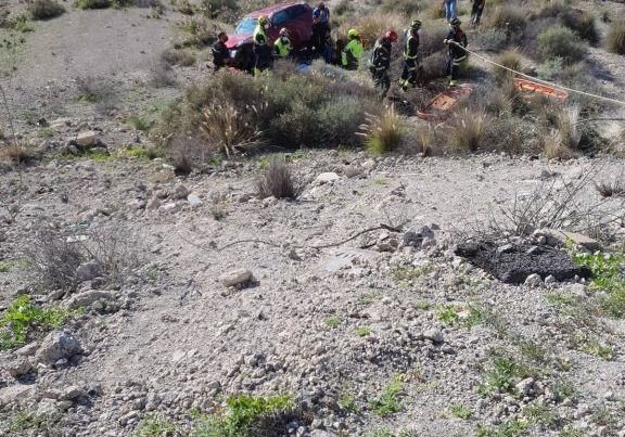 Accidente de tráfico en Torviscas